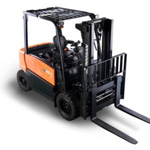 Doosan Pneumatic Electric 4-Wheel 80V Forklift 4,500 - 10,000 lbs