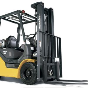 Komatsu Pneumatic Dual Fuel Forklift 3,000 - 3,500 lbs