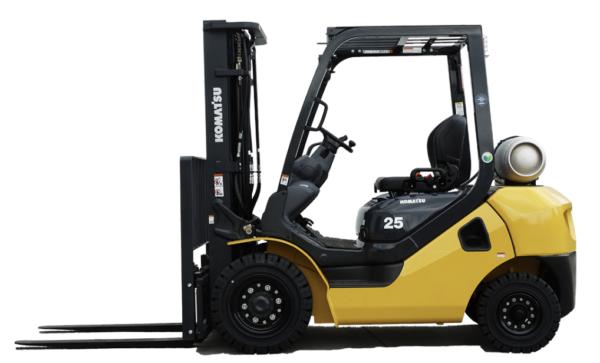 Komatsu IC Pneumatic Dual Fuel Forklift 4,000 - 6,500 lbs