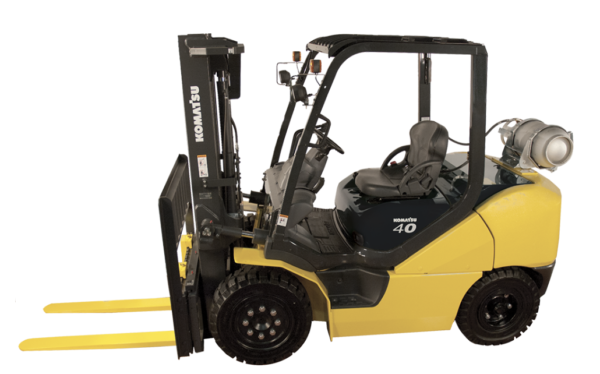 Komatsu Dual Fuel Pneumatic Forklift 8,000 - 11,000 lbs