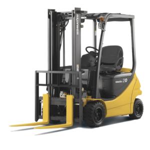 Komatsu Electric Cushion/Pneumatic Forklift 3,000 - 4,000 lbs