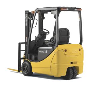 Komatsu Cushion/Pneumatic 3-Wheel Forklift 3,000 - 4,000 lbs
