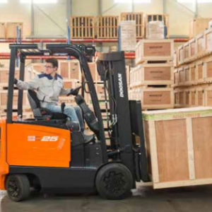 Doosan Cushion Electric 4,000 - 6,500 lbs