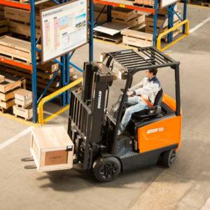 Doosan Cushion Electric 4-Wheel 4,000 - 6,500 lbs